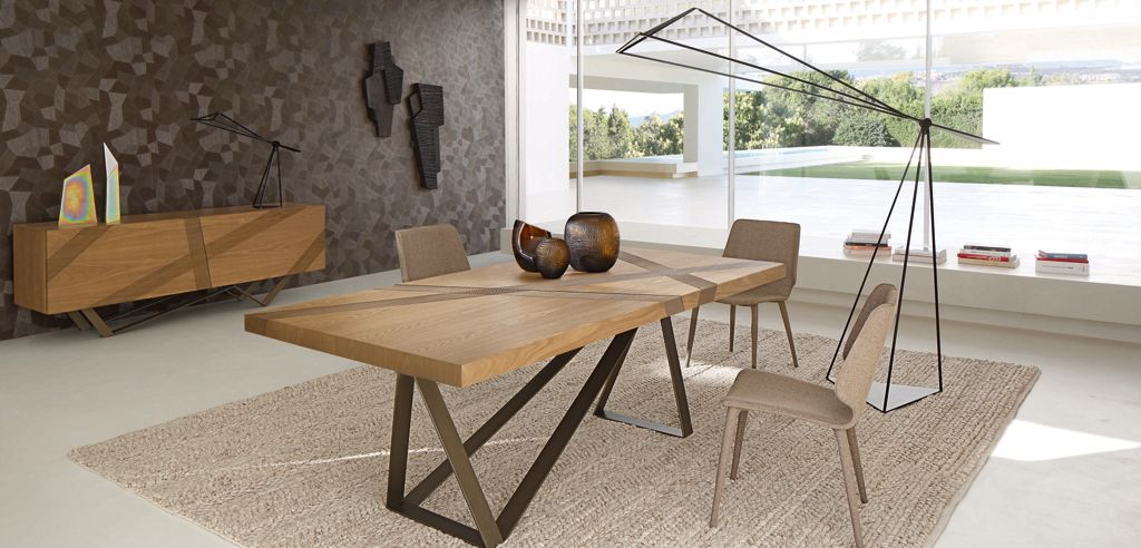 Table a manger roche bobois - Table repas design ...