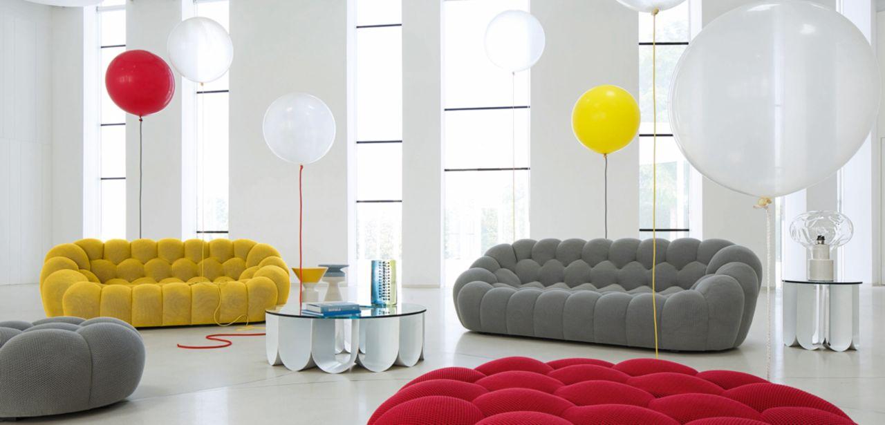 grand canap 3 places bubble roche bobois. Black Bedroom Furniture Sets. Home Design Ideas