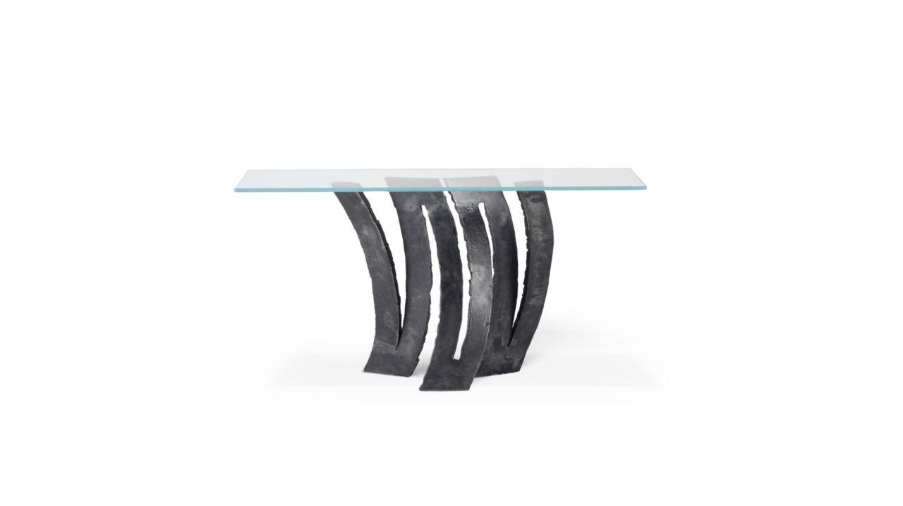 console fleur de fer roche bobois. Black Bedroom Furniture Sets. Home Design Ideas