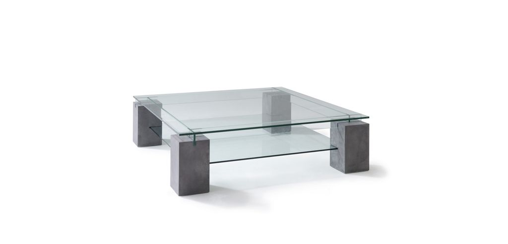 Table basse en verre la roche bobois - Roche et bobois table ...