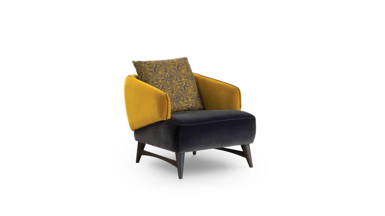 Fauteuil aries collection nouveaux classiques roche bobois - Roche bobois fauteuils ...