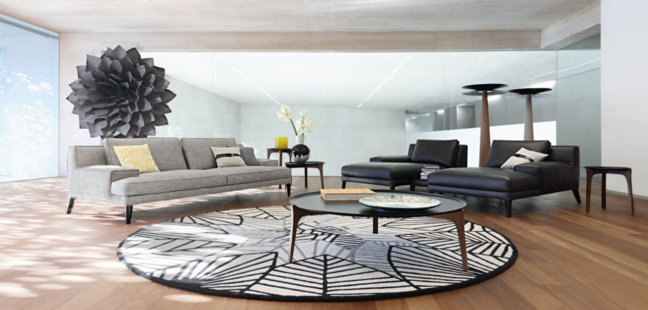 playlist large 3 seat sofa roche bobois. Black Bedroom Furniture Sets. Home Design Ideas