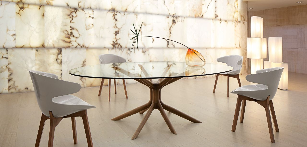 Mangrove table de repas roche bobois for Table de repas design