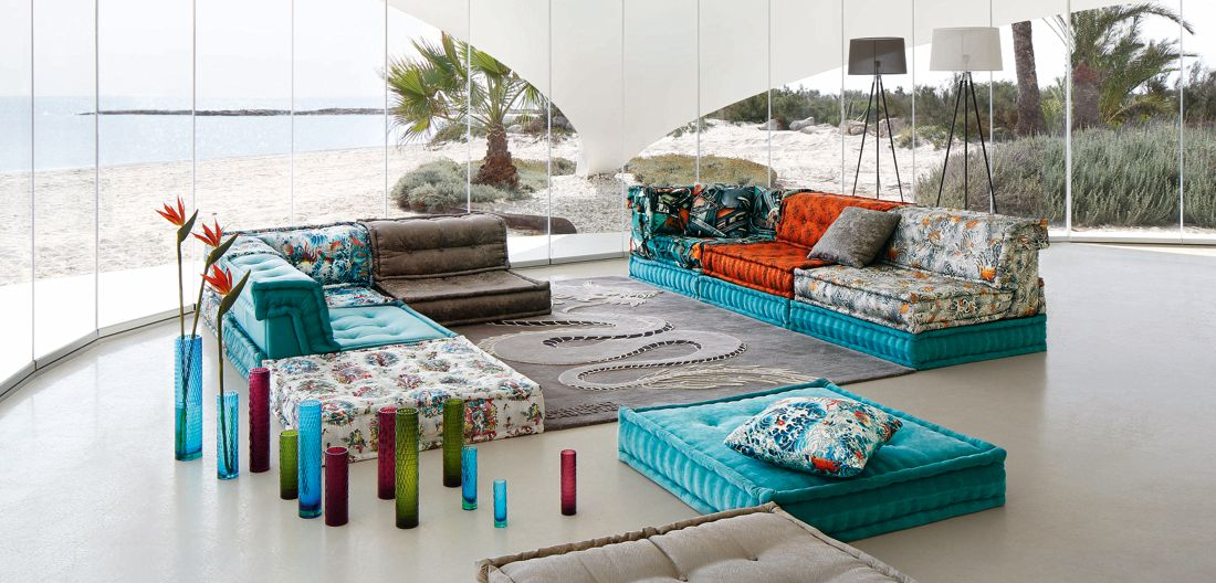 l icona mah jong roche bobois. Black Bedroom Furniture Sets. Home Design Ideas