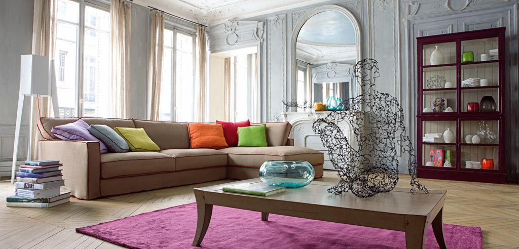long island corner composition nouveaux classiques collection roche bobois - Roche Bobois Bedroom Furniture