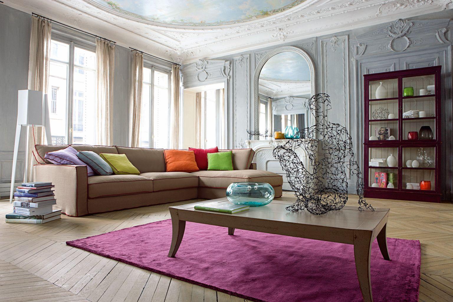 Strange Long Island Large 3 Seat Sofa Roche Bobois Interior Design Ideas Clesiryabchikinfo