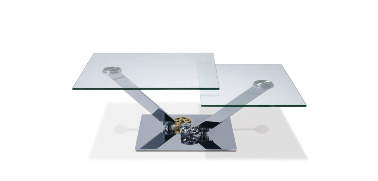 Table basse astrolab roche bobois - Table basse en verre roche bobois ...