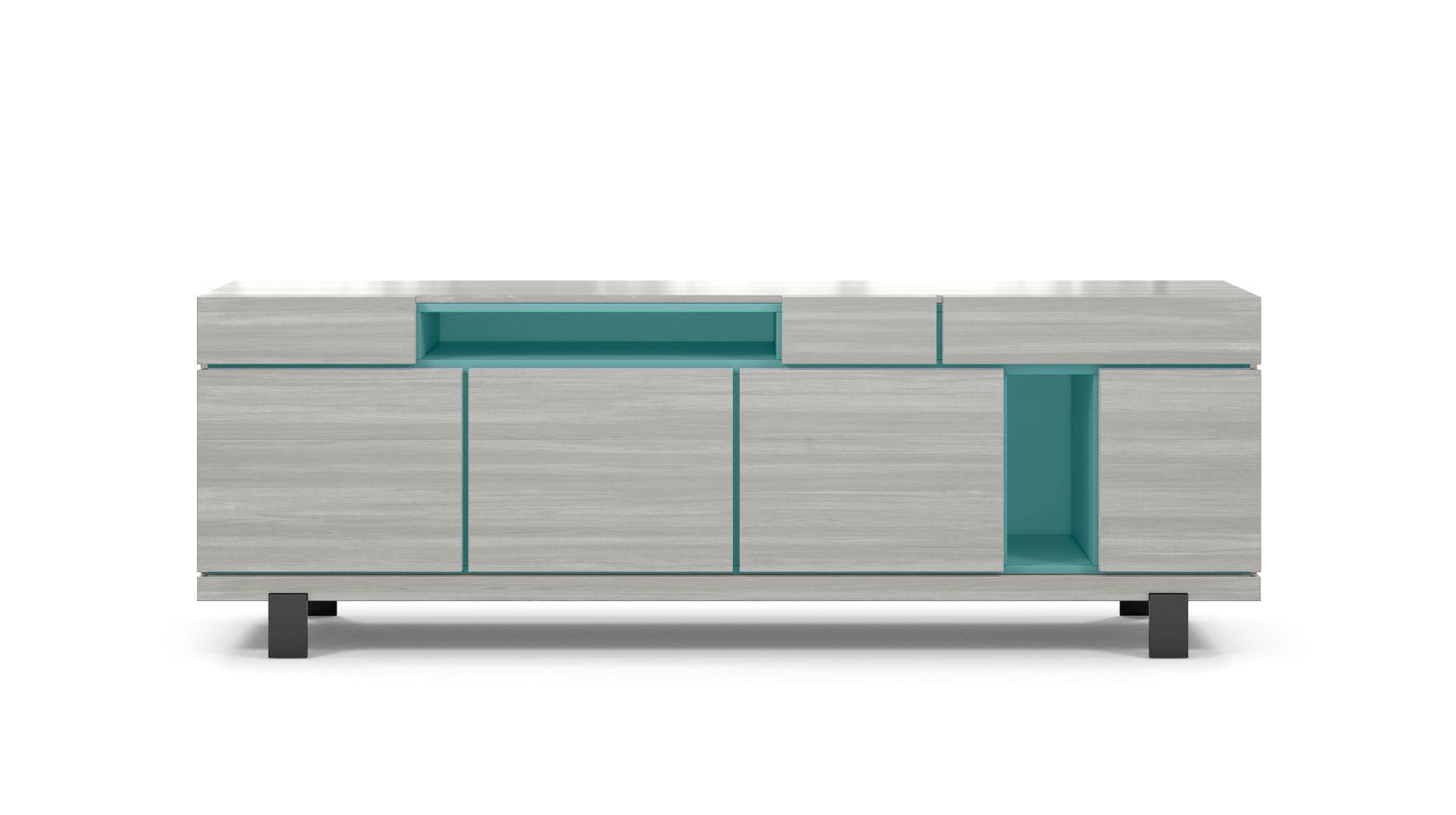 optimum tv unit roche bobois. Black Bedroom Furniture Sets. Home Design Ideas