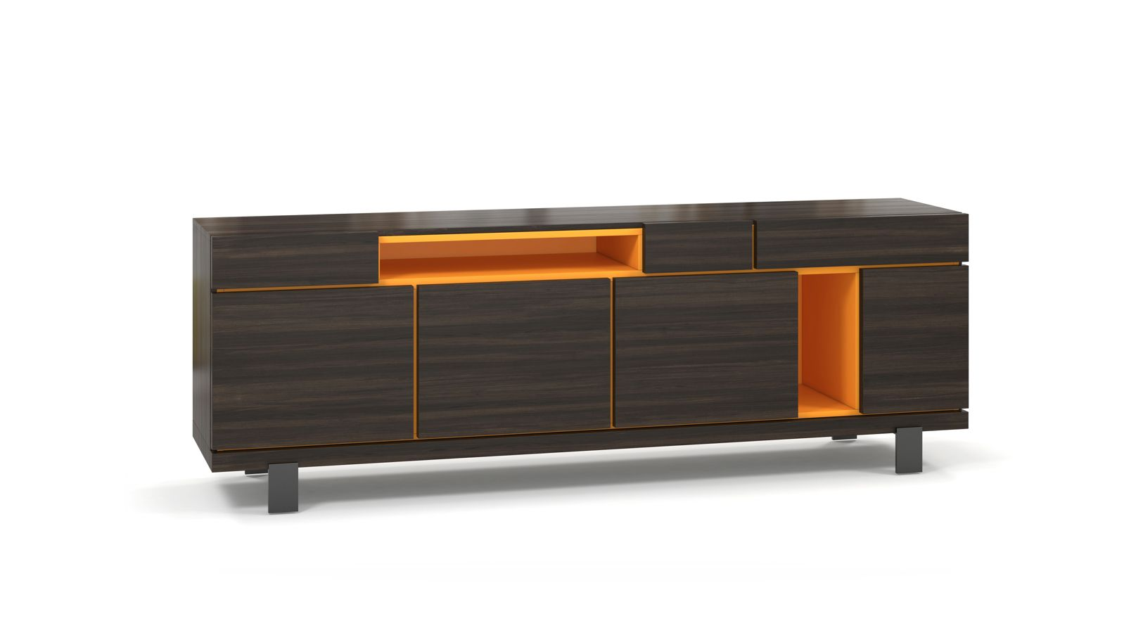 buffet optimum roche bobois. Black Bedroom Furniture Sets. Home Design Ideas