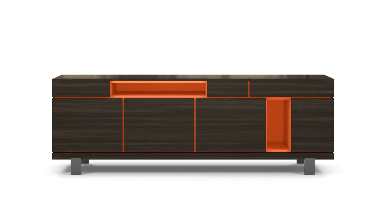 Optimum sideboard roche bobois for Bahut table
