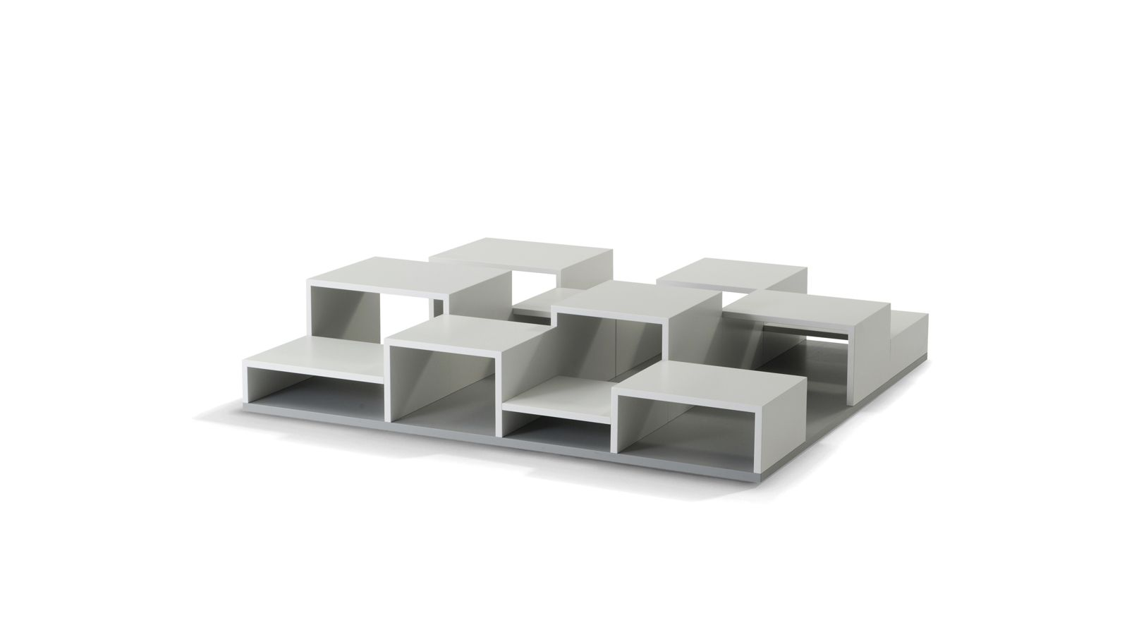 Pixl bookcase roche bobois for Table basse roche bobois