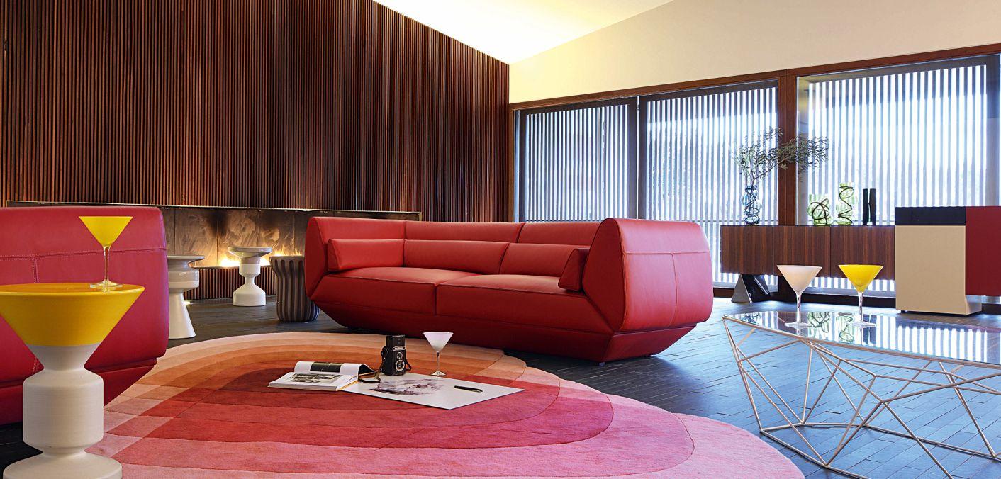 Arobase Large 3 Seat Sofa Roche Bobois