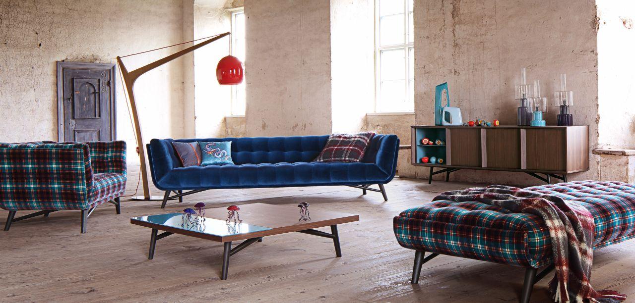 profile large 4 seat sofa nouveaux classiques collection. Black Bedroom Furniture Sets. Home Design Ideas