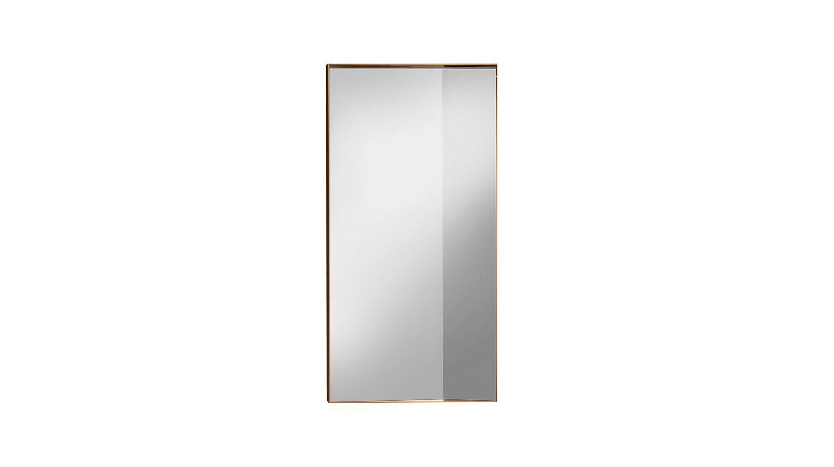 Miroir simple angle roche bobois for Miroir simple