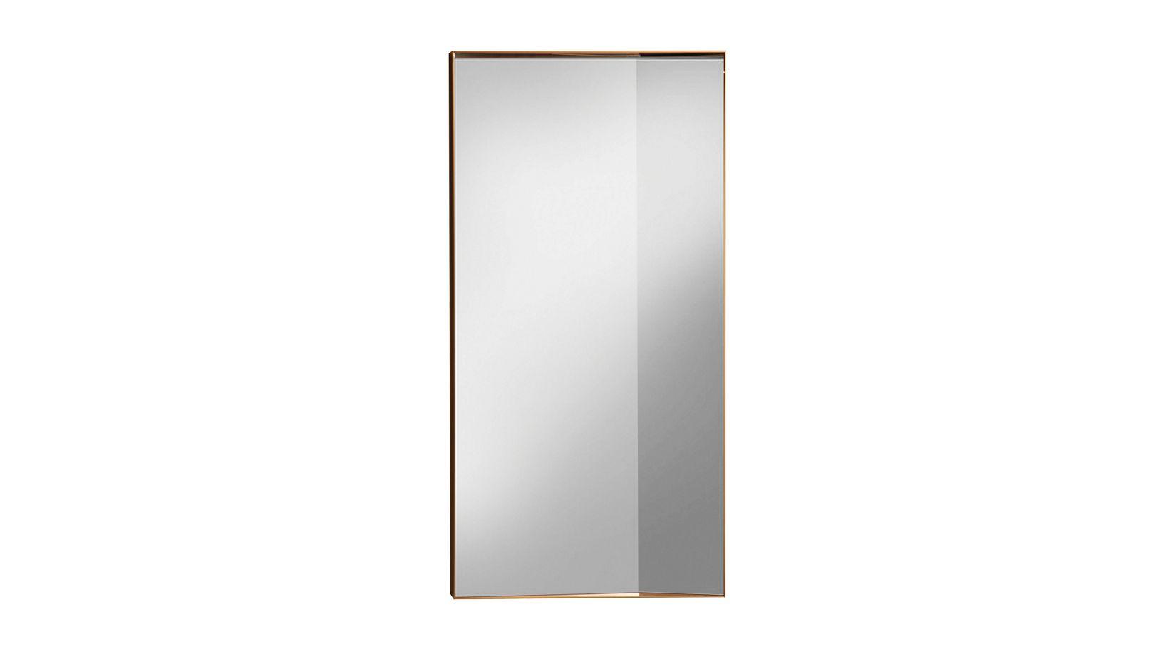 Miroir double angle roche bobois for Miroir simple