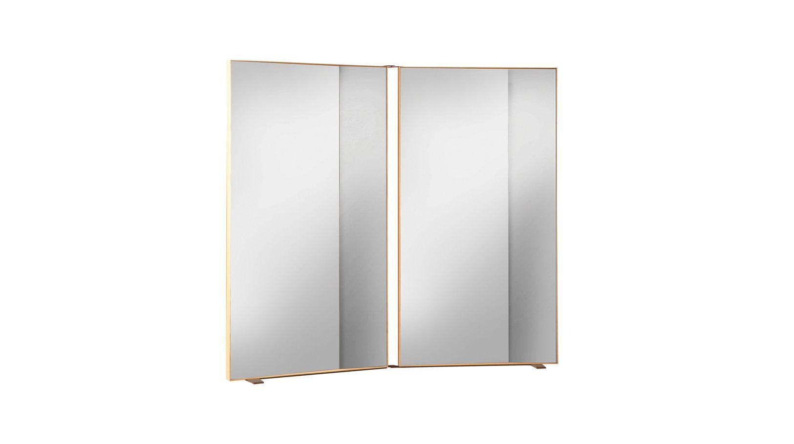 Miroir double angle roche bobois for Miroir design roche bobois