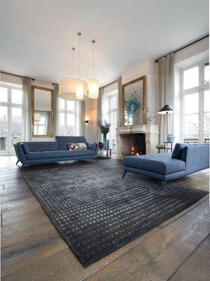 syllabe large 3-seat sofa (nouveaux classiques collection) - roche