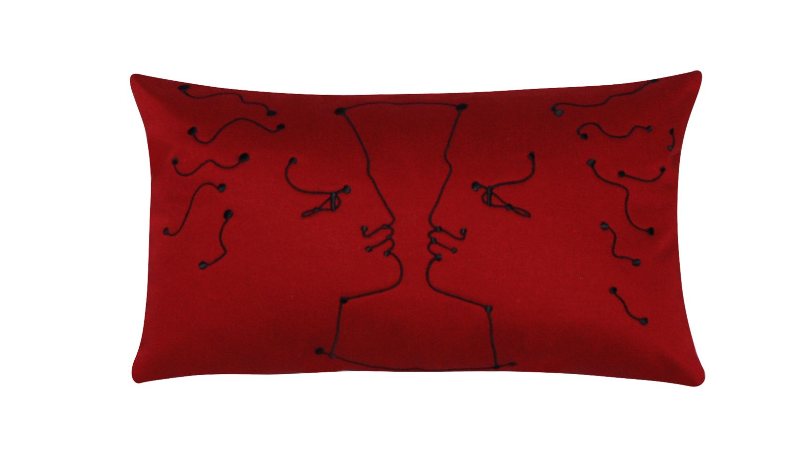 coussin face a face jean cocteau roche bobois. Black Bedroom Furniture Sets. Home Design Ideas