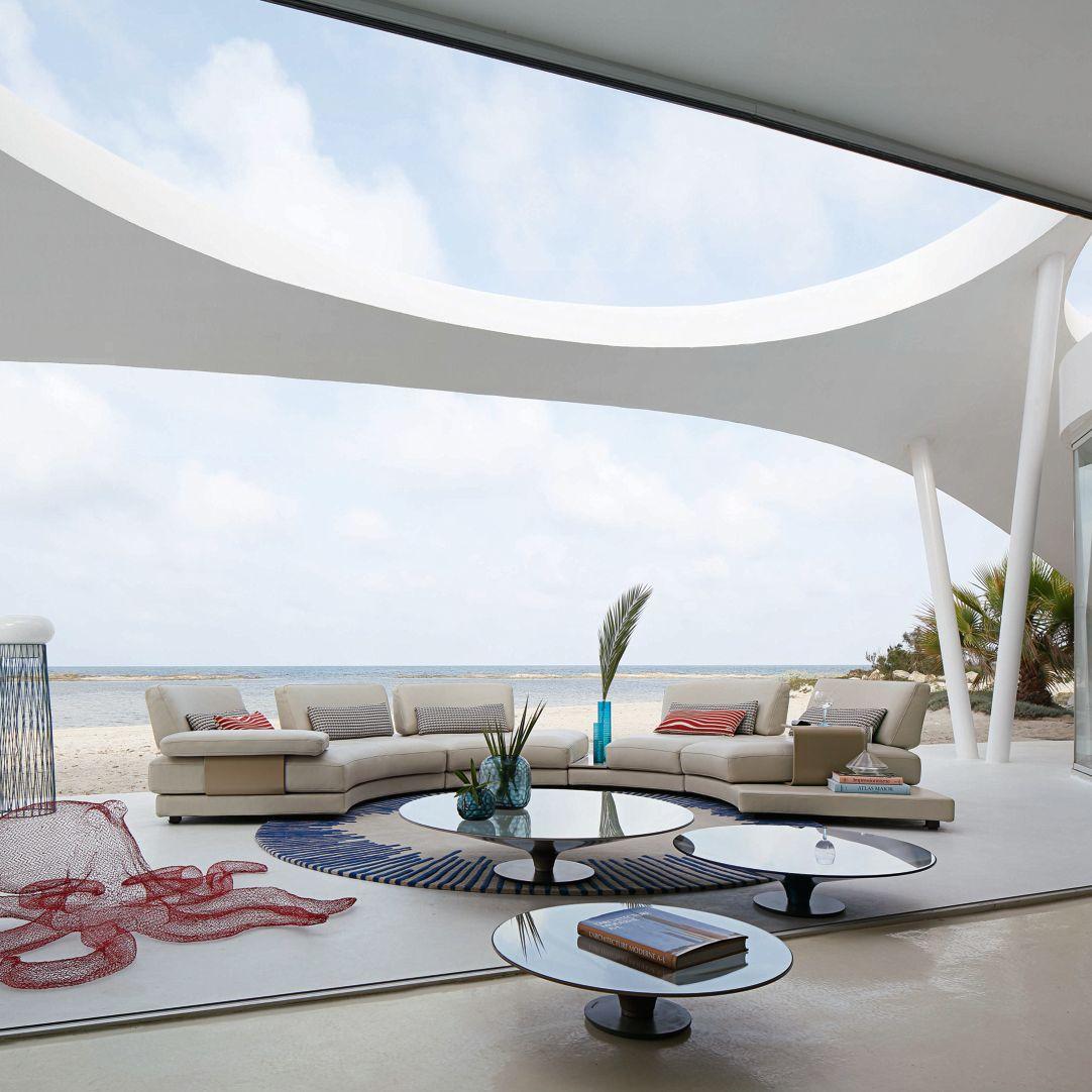 BEACH BAY Abgerundetes Modul-Sofa - Roche Bobois
