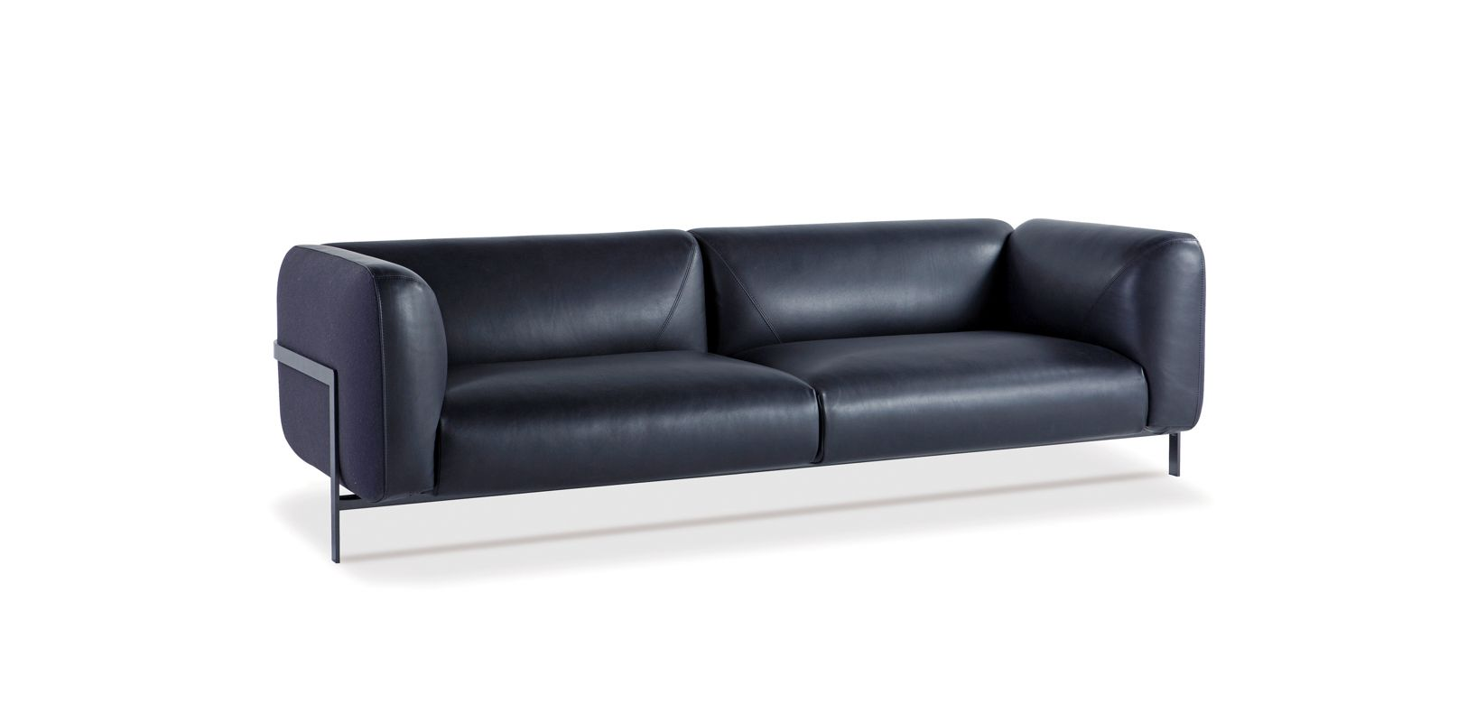 gro es 3 sitzer sofa lobby roche bobois. Black Bedroom Furniture Sets. Home Design Ideas