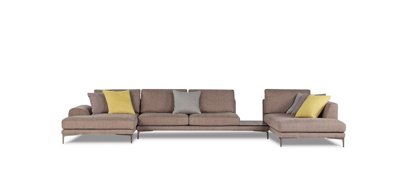 exclamation canap composable par l ments roche bobois. Black Bedroom Furniture Sets. Home Design Ideas