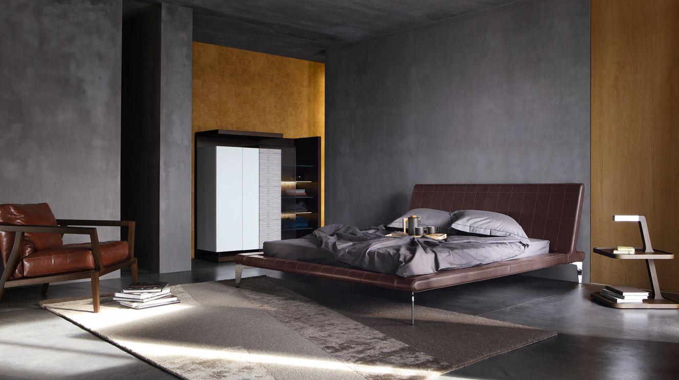 echoes bed roche bobois. Black Bedroom Furniture Sets. Home Design Ideas