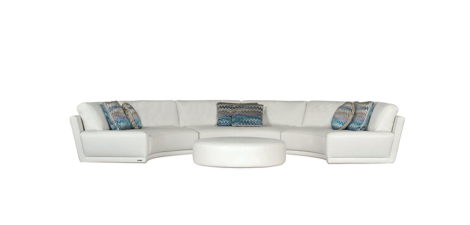 Canap composable arrondi solstice roche bobois for Canape d angle arrondi