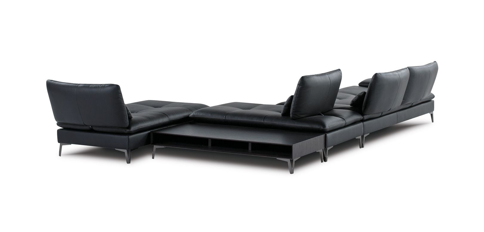 composition d 39 angle scenario roche bobois. Black Bedroom Furniture Sets. Home Design Ideas
