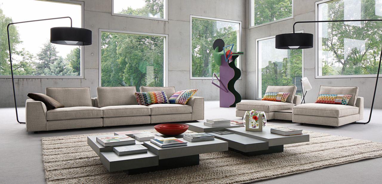 eole canap composable par l ments roche bobois. Black Bedroom Furniture Sets. Home Design Ideas