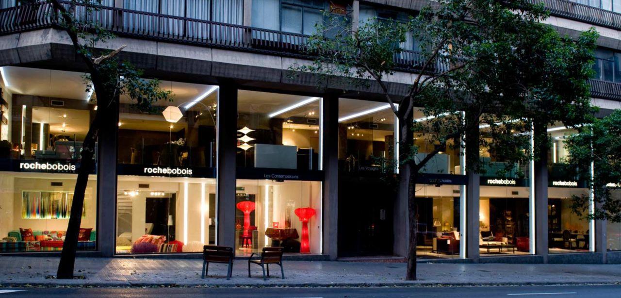 Roche bobois showroom barcelona 08021 - Roche bobois barcelona ...