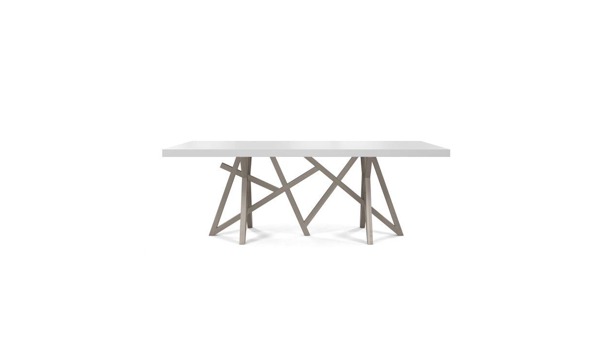saga dining table roche bobois. Black Bedroom Furniture Sets. Home Design Ideas