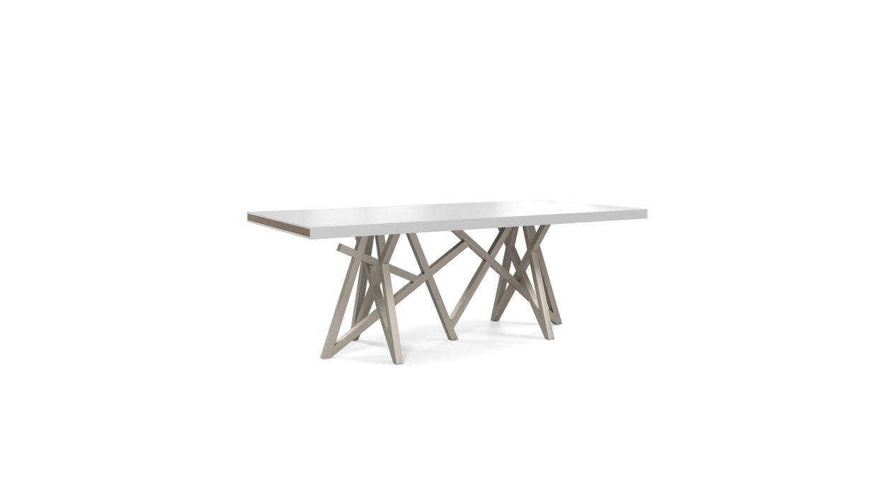 Saga dining table roche bobois for Tables de salon roche bobois