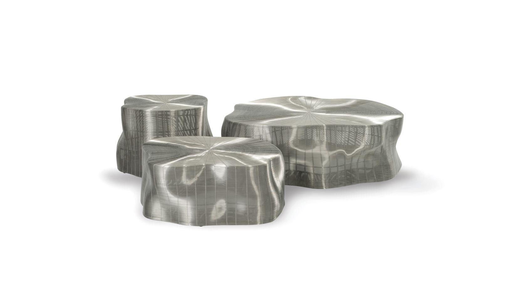 Exotic jean paul gaultier cushion roche bobois for Roche bobois tables basses