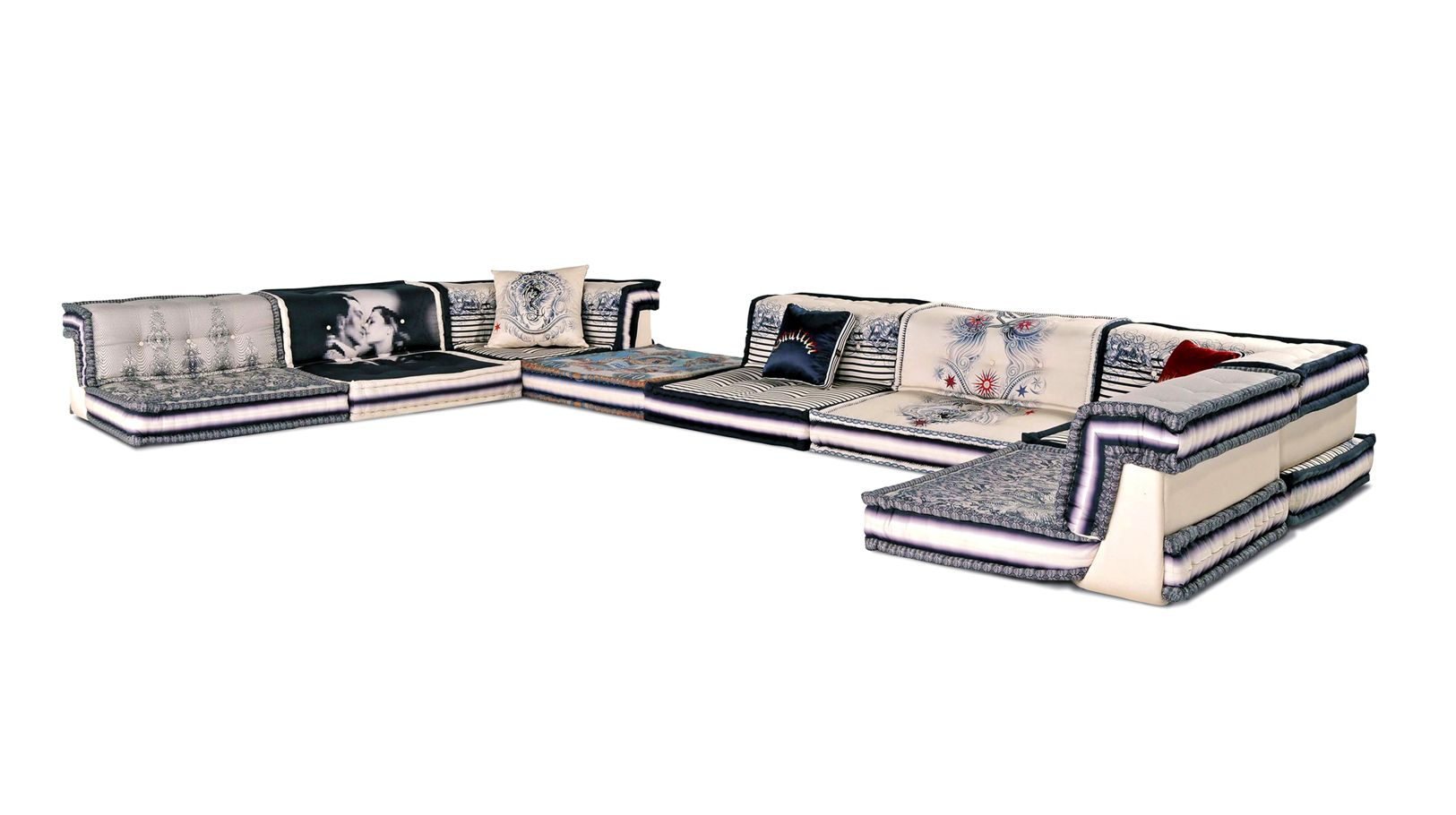 composizione couture jean paul gaultier mah jong roche. Black Bedroom Furniture Sets. Home Design Ideas