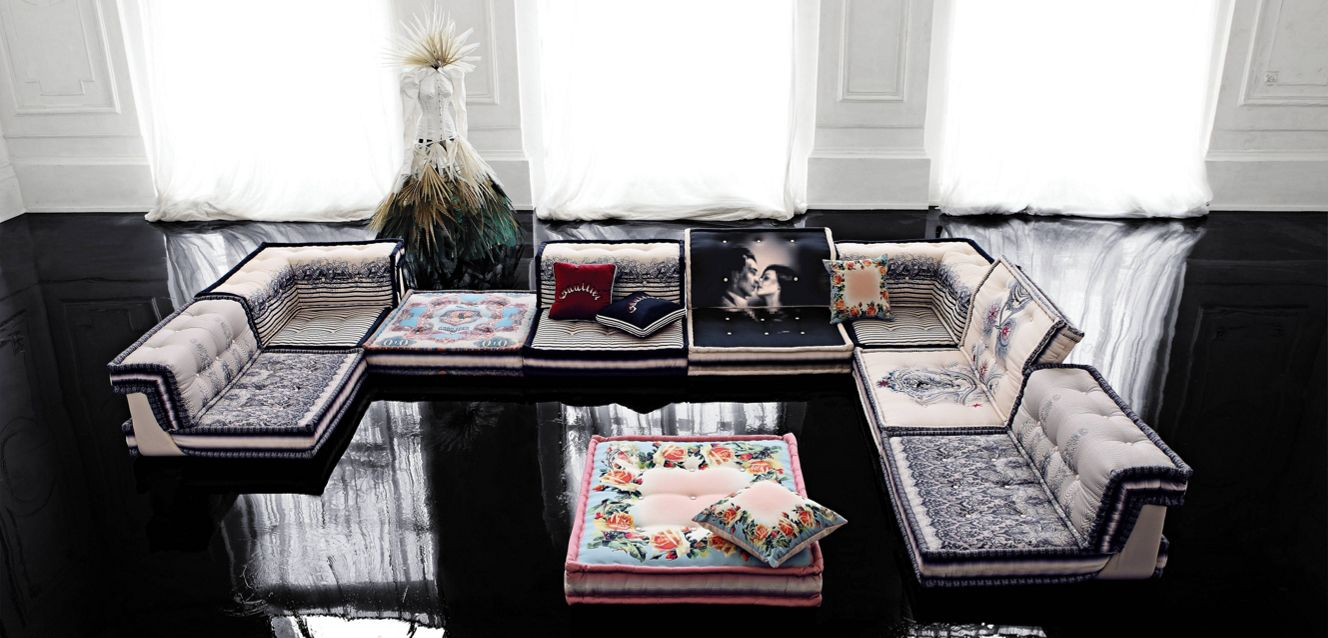 mah jong composition couture jean paul gaultier roche bobois. Black Bedroom Furniture Sets. Home Design Ideas