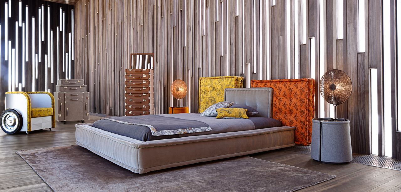 mah jong bed roche bobois. Black Bedroom Furniture Sets. Home Design Ideas