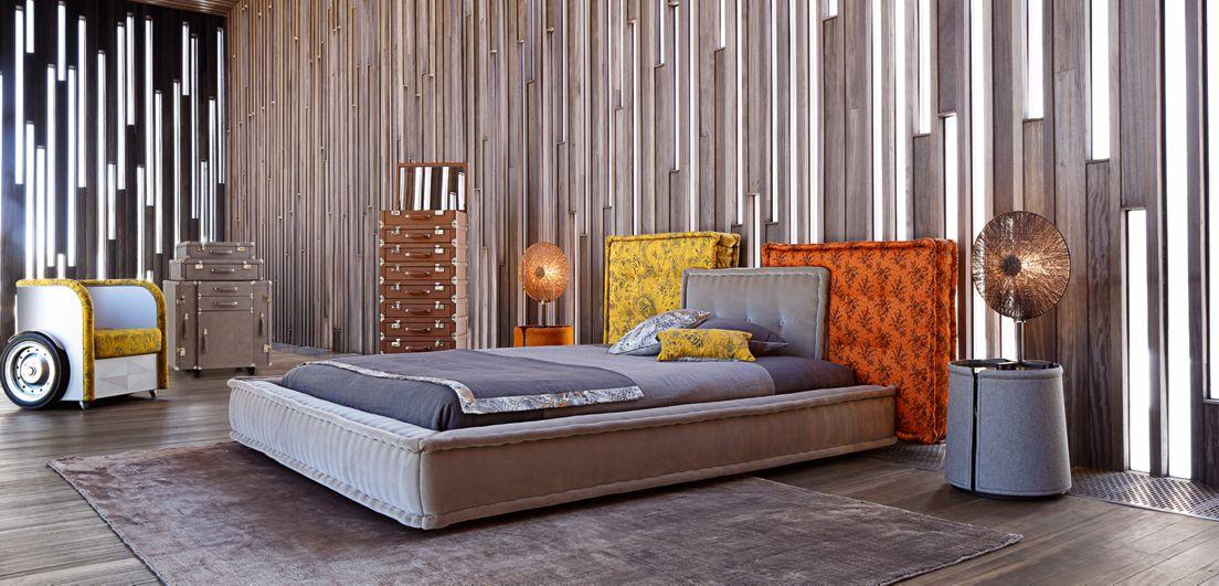 mah jong bed roche bobois. Black Bedroom Furniture Sets. Home Design Ideas
