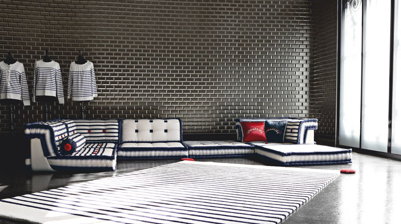 composizione missoni home mah jong roche bobois. Black Bedroom Furniture Sets. Home Design Ideas