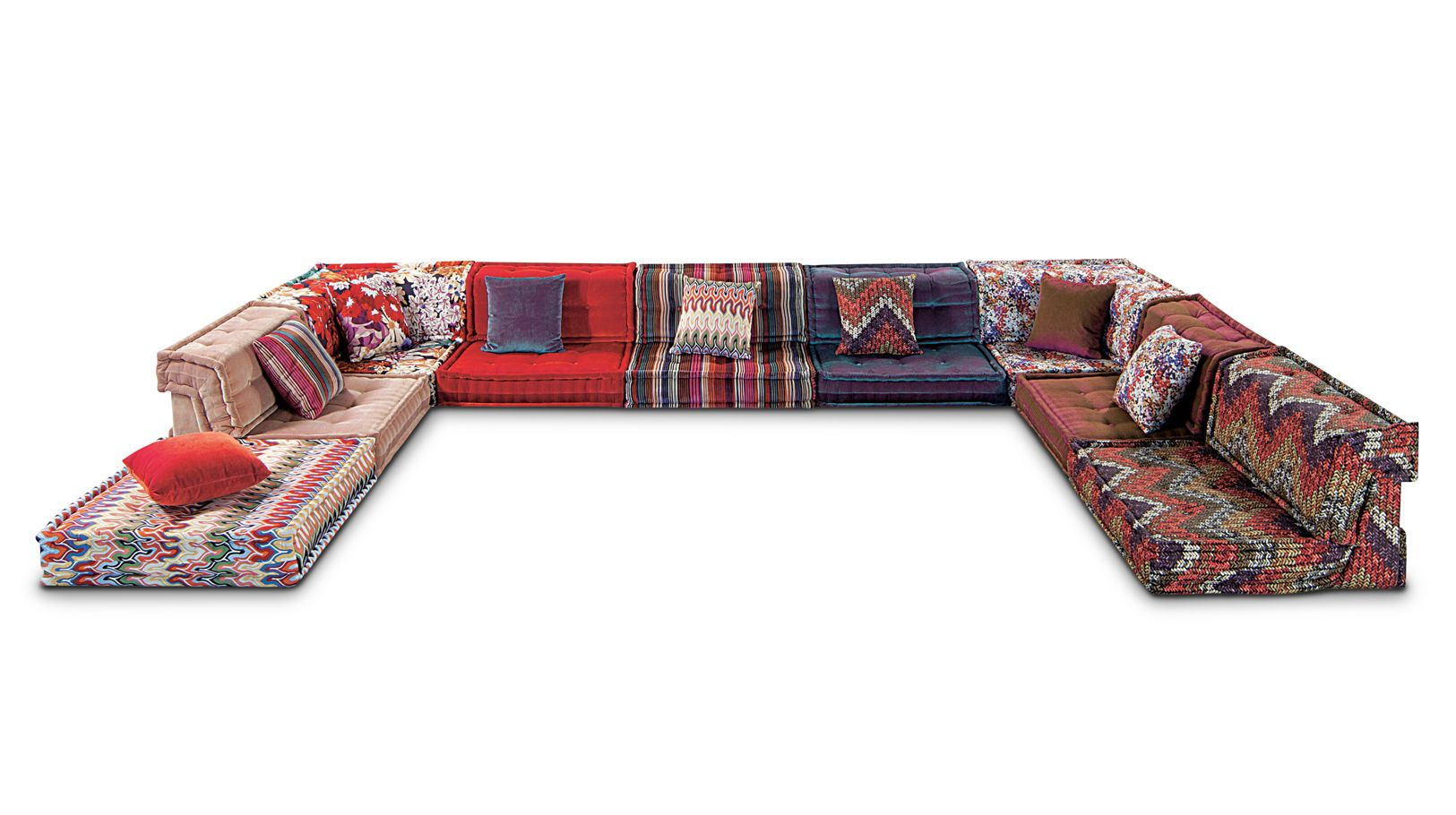 composition missoni home mah jong roche bobois. Black Bedroom Furniture Sets. Home Design Ideas