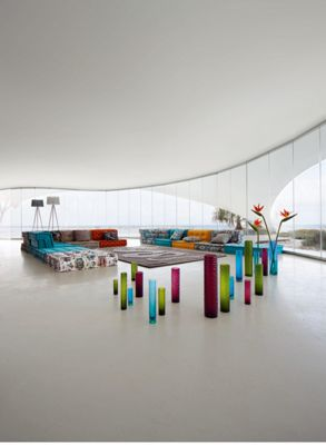 MAH JONG COMPOSITION Missoni Home  Roche Bobois -> Compodition Mural Roche Bobois