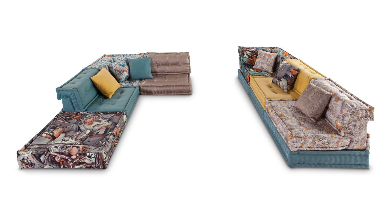 canap composable jean paul gaultier mah jong roche bobois. Black Bedroom Furniture Sets. Home Design Ideas