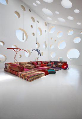 Bodenkissen sofa  MAH JONG COMPOSITION Missoni Home - Roche Bobois