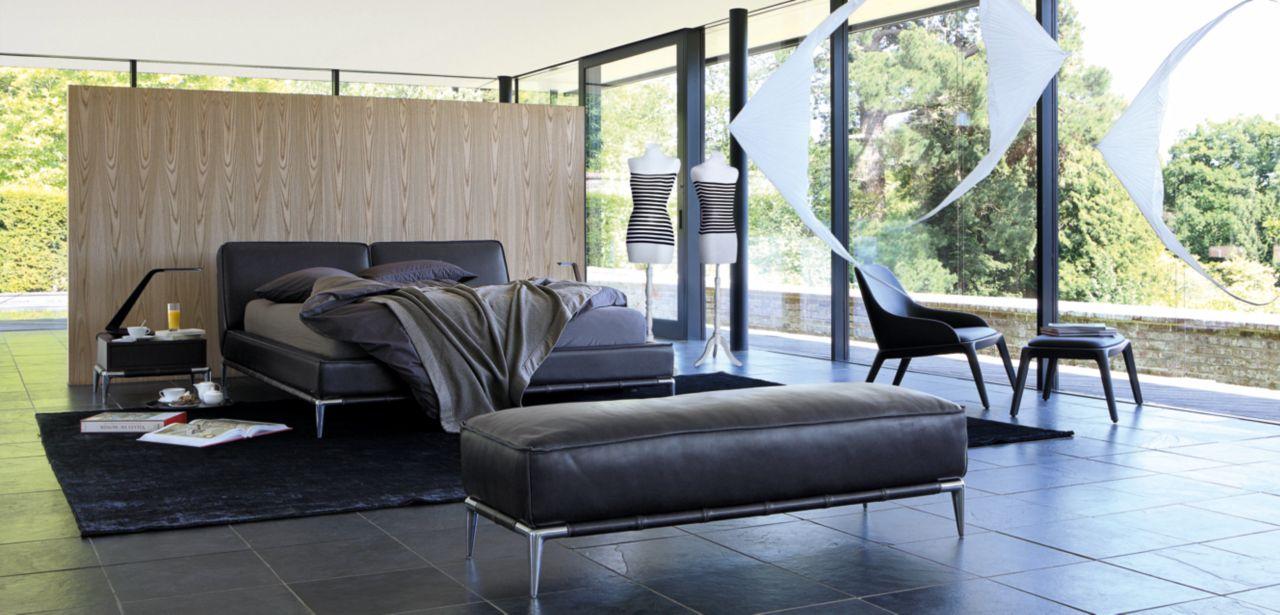 Roche bobois sofa bed for Chaise longue roche bobois