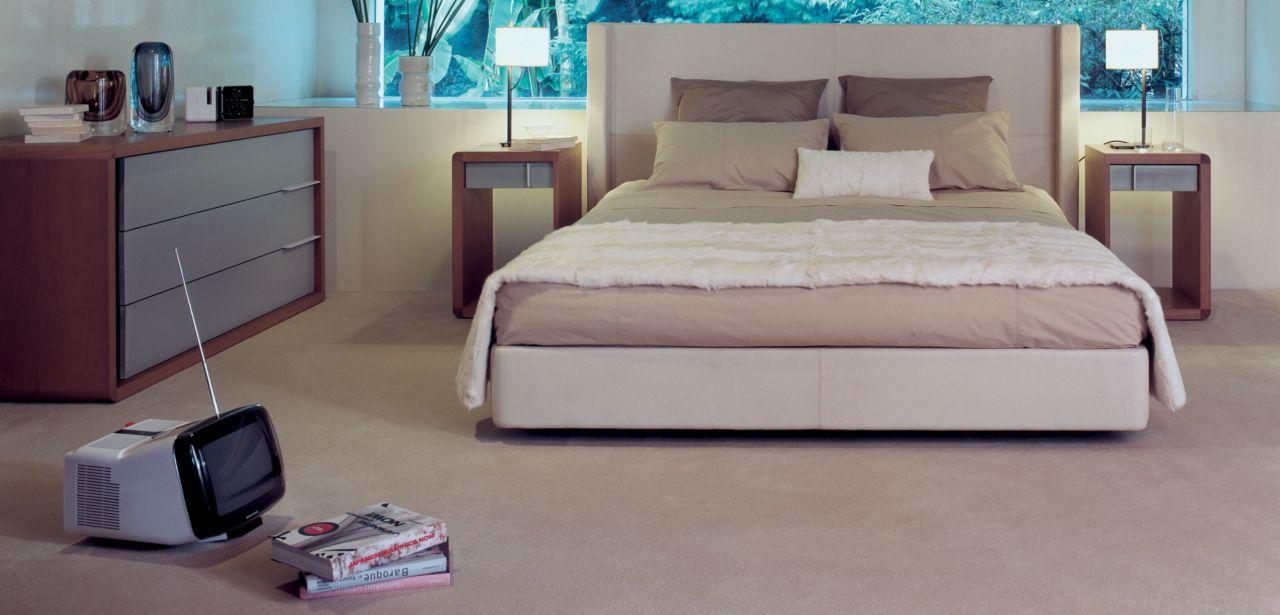 Rive droite bed roche bobois for Lit roche bobois