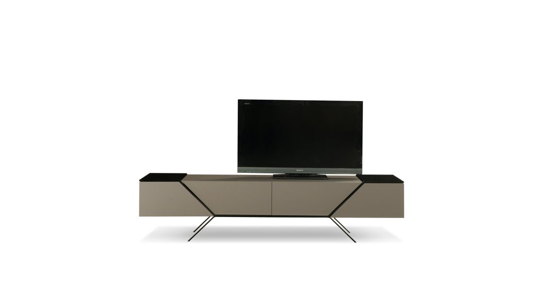 meuble tv chicane roche bobois. Black Bedroom Furniture Sets. Home Design Ideas