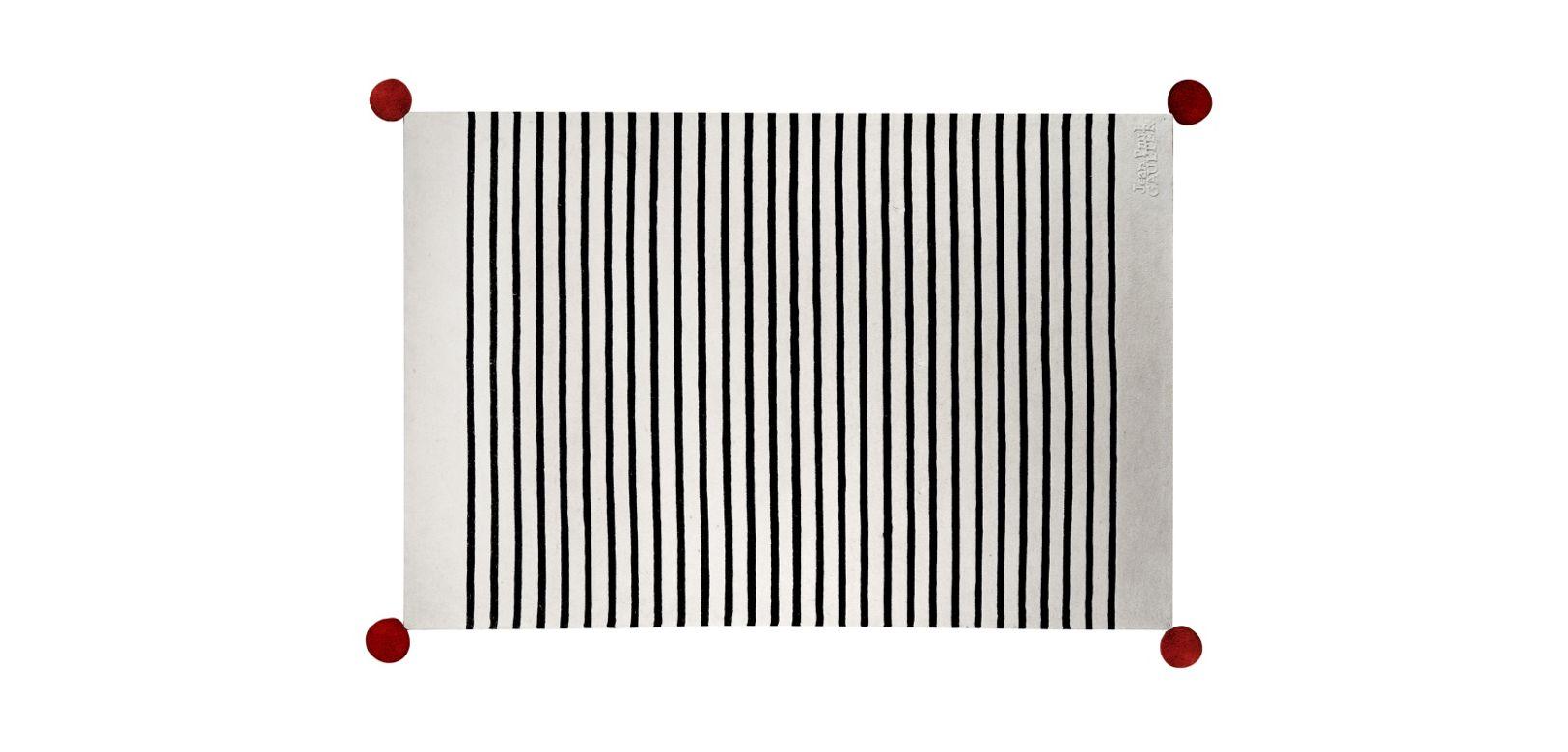 Tapis dunkerque jean paul gaultier roche bobois - Tapis contemporain roche bobois ...