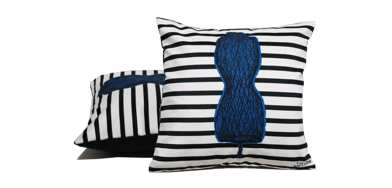 femina jean paul gaultier cushion roche bobois. Black Bedroom Furniture Sets. Home Design Ideas