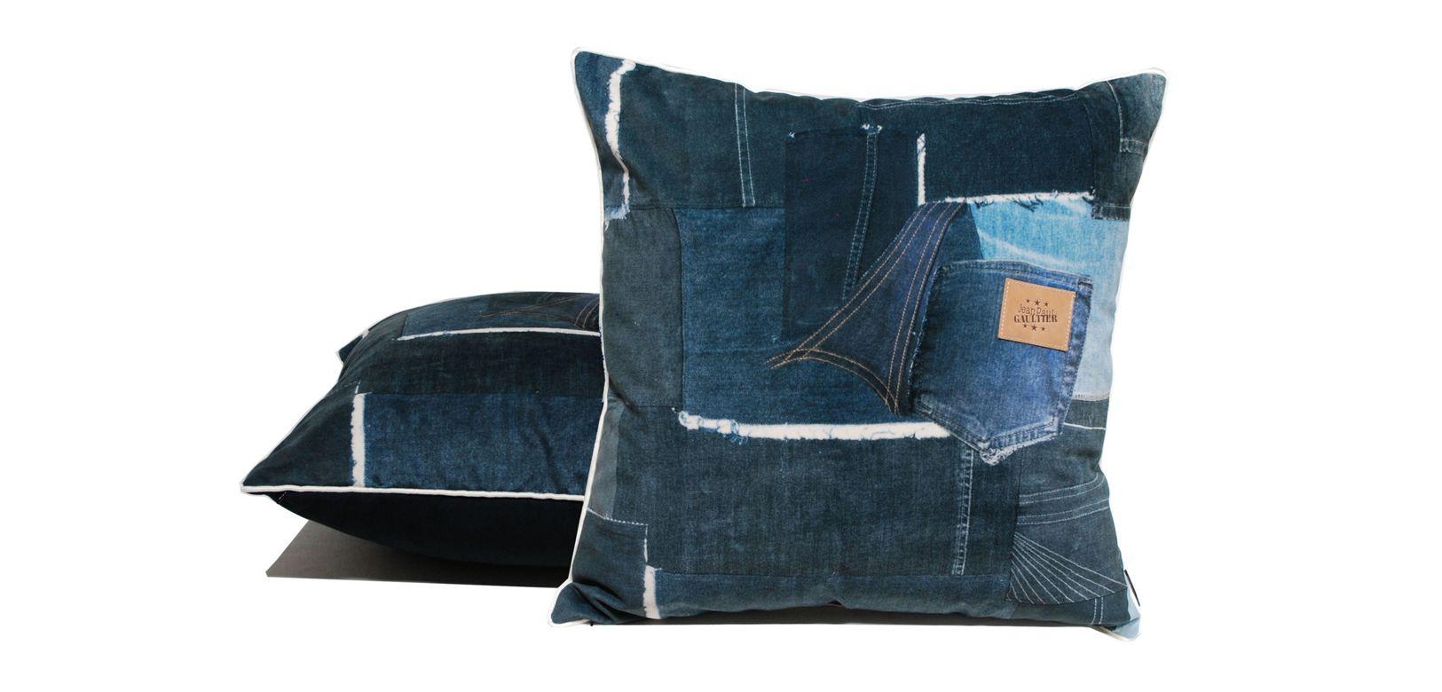 coussin jackron jean paul gaultier roche bobois. Black Bedroom Furniture Sets. Home Design Ideas