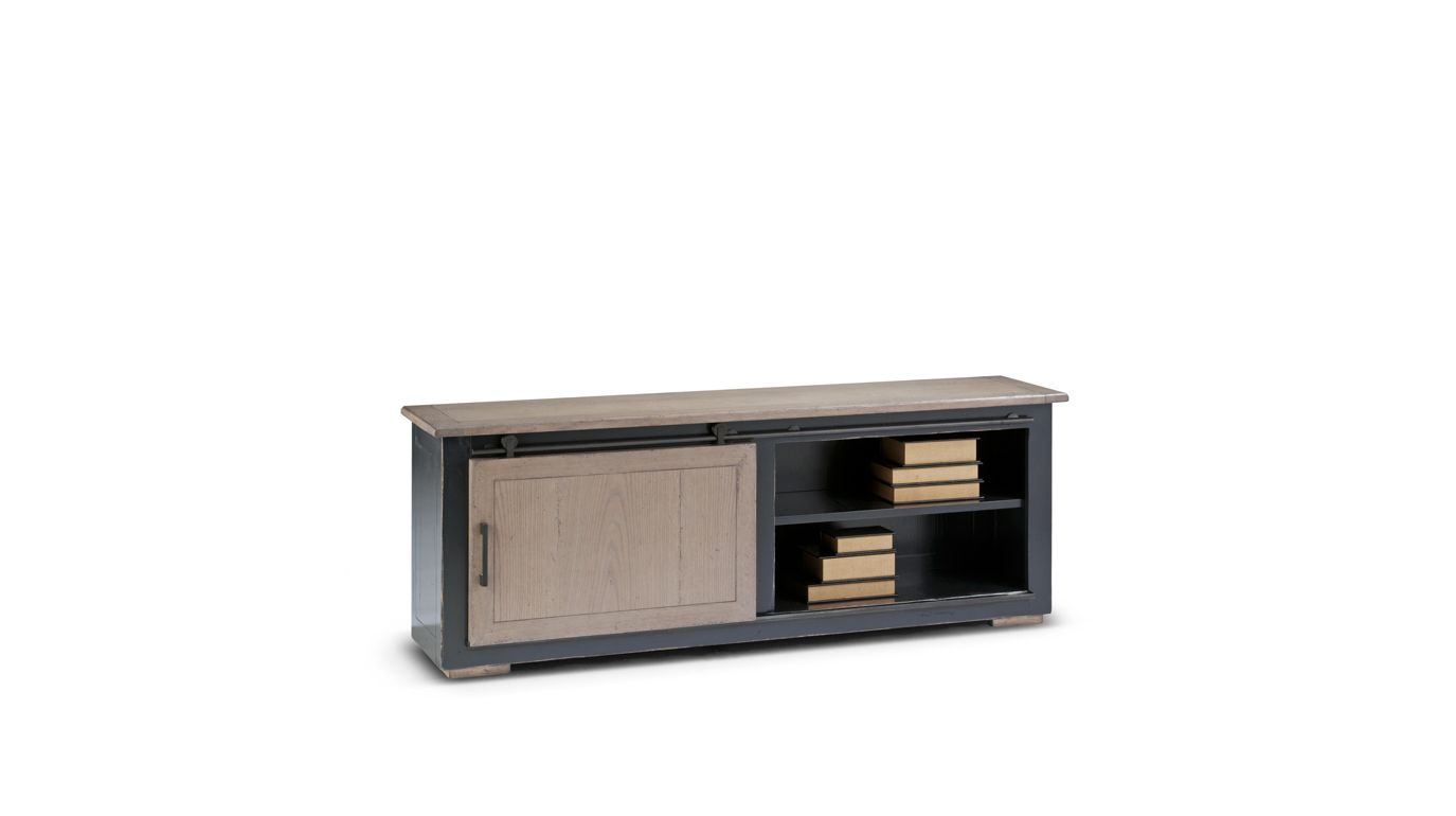 Meuble tv maxime collection nouveaux classiques roche for Roche bobois meuble tv
