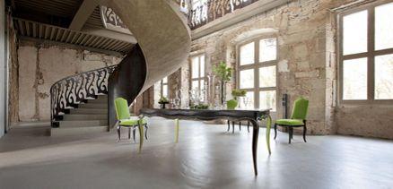 volubilis chair nouveaux classiques collection roche. Black Bedroom Furniture Sets. Home Design Ideas